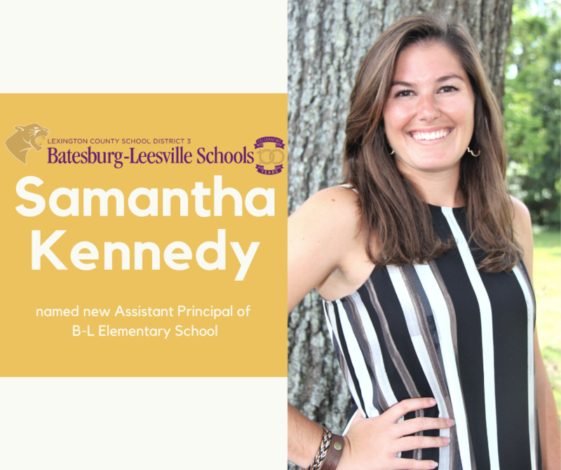 New Assistant Principal Named for B-L Elementary School