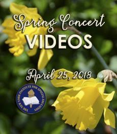 2018 Spring Concert Videos