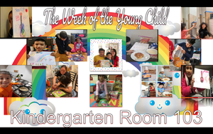 The Week of the Young Child celebrations collage