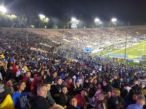 Dartmouth Avid at UCLA Football Game.