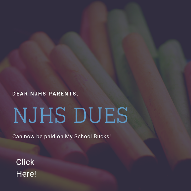 NJHS Dues Featured Photo