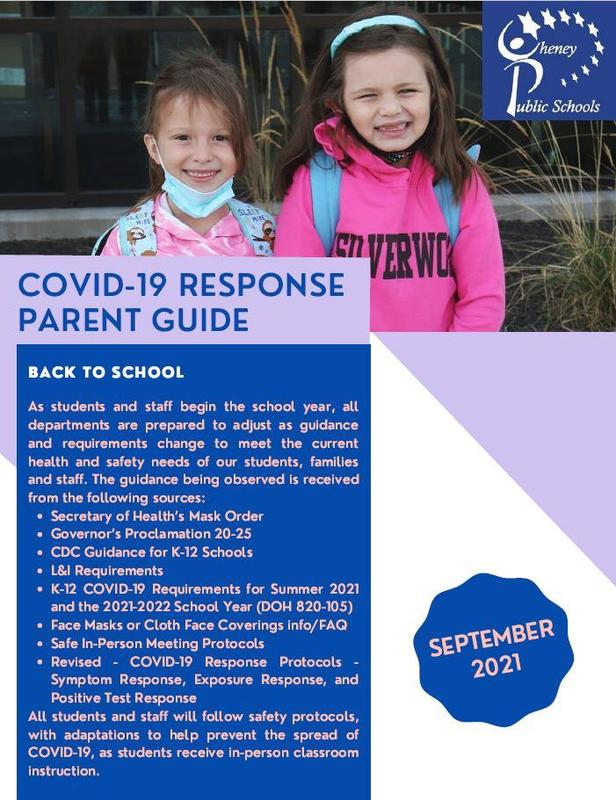 Covid-19 Response Parent Guide - September 2021 Thumbnail Image