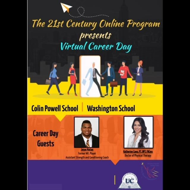 Virtual Career Day flyer