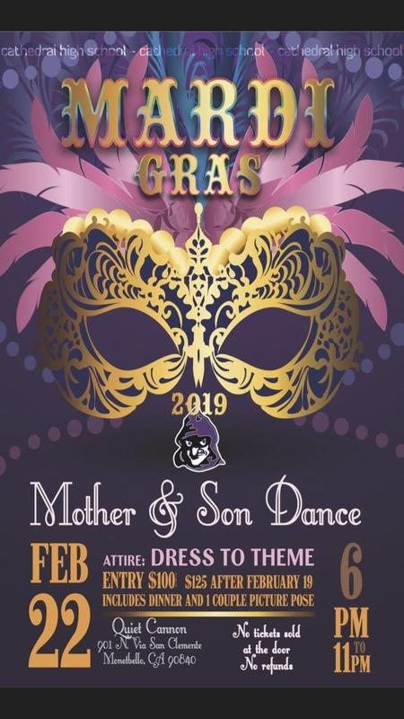 Friday, February 22nd: MOTHER & SON DANCE Thumbnail Image