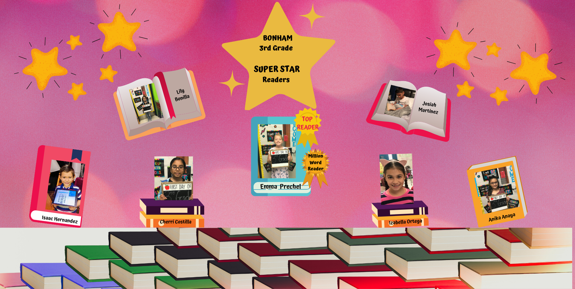 3rd grade Super Readers