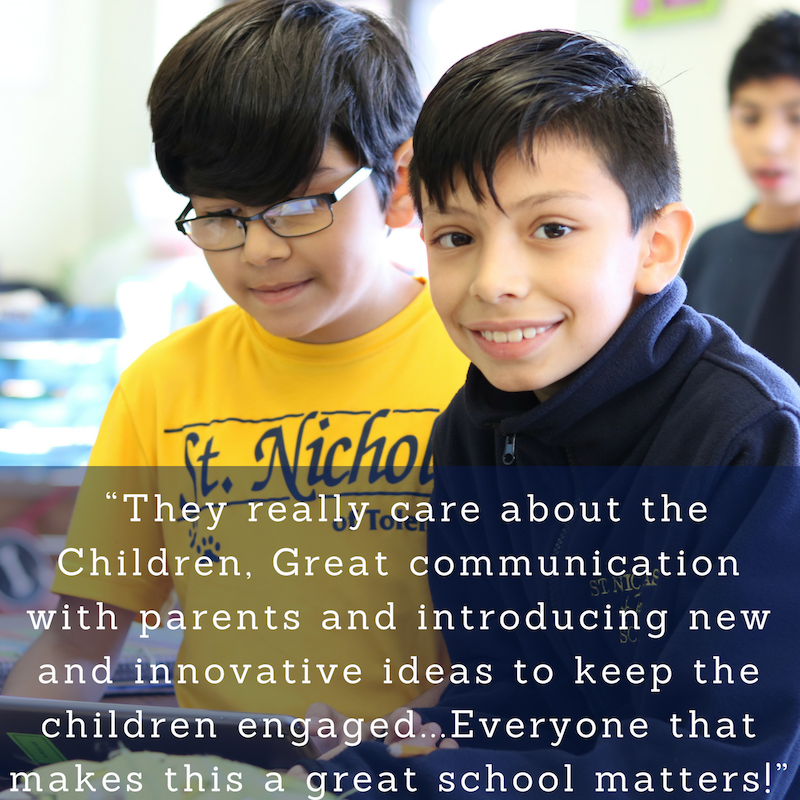 Parent testimonial-they really care about the children