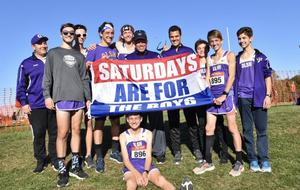 photo of the OLSH Boys Cross Country Team at WPIALs