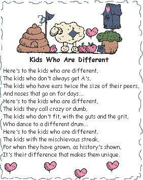 Special Education Poem