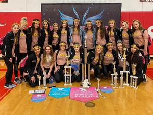 CLHS Dance team Danceline