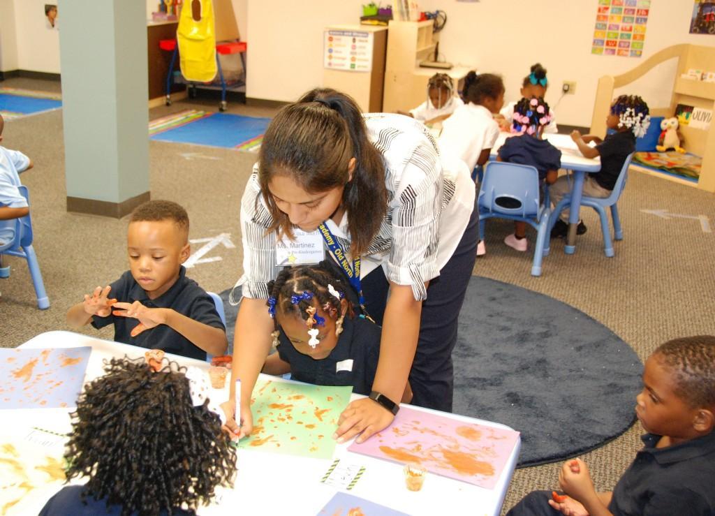 Pre-kindergarten, Old North, first day 2016-17