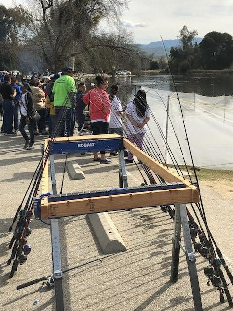 Kern Kiwanis Take A Kid Fishing at Lake Ming