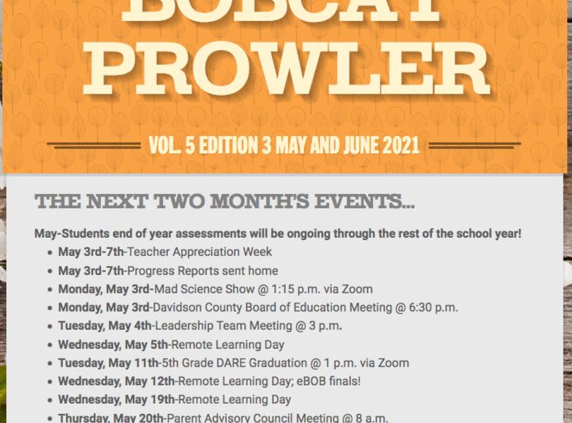 May/June Prowler
