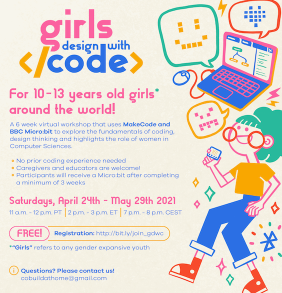 Girls Design With Code