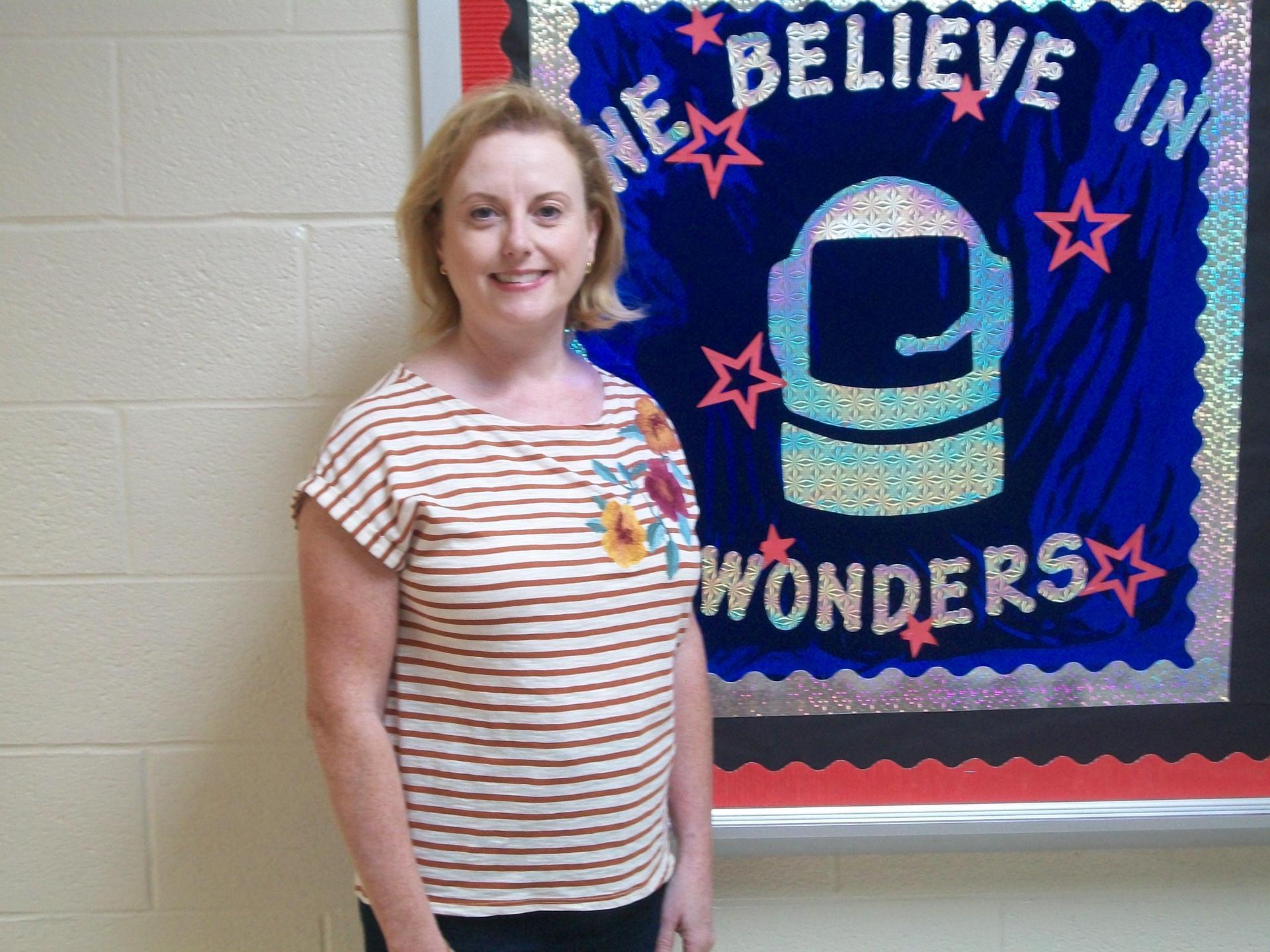 Teacher of the Year Lynn Carrick.