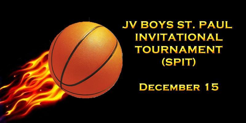 JV St. Paul Invitational Basketball Tournament December 15 Thumbnail Image