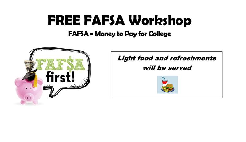 FREE FAFSA Workshop Featured Photo