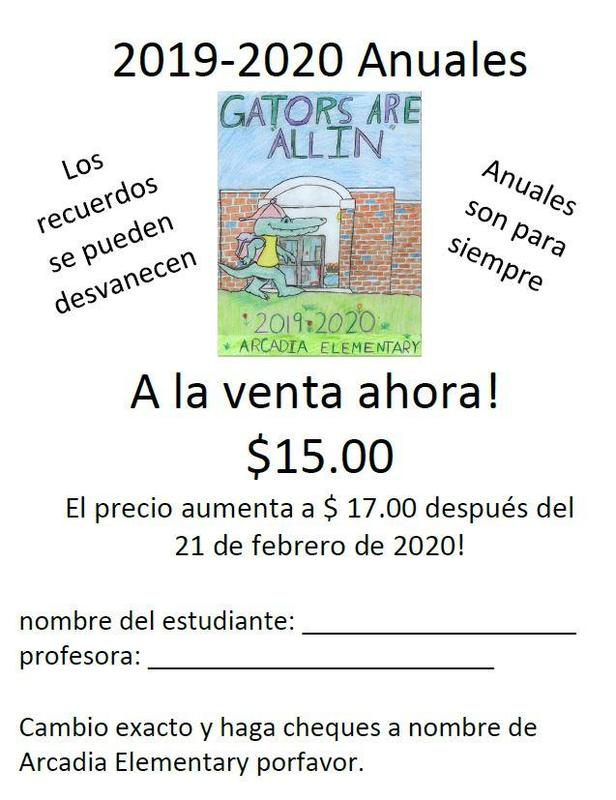 Yearbook Ad- Spanish