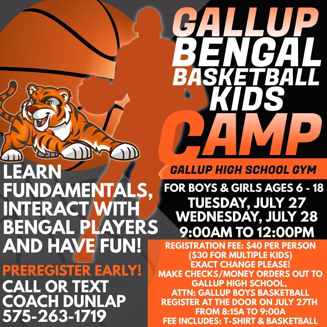 GHS Basketball Camp