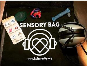SBU sensory bag items