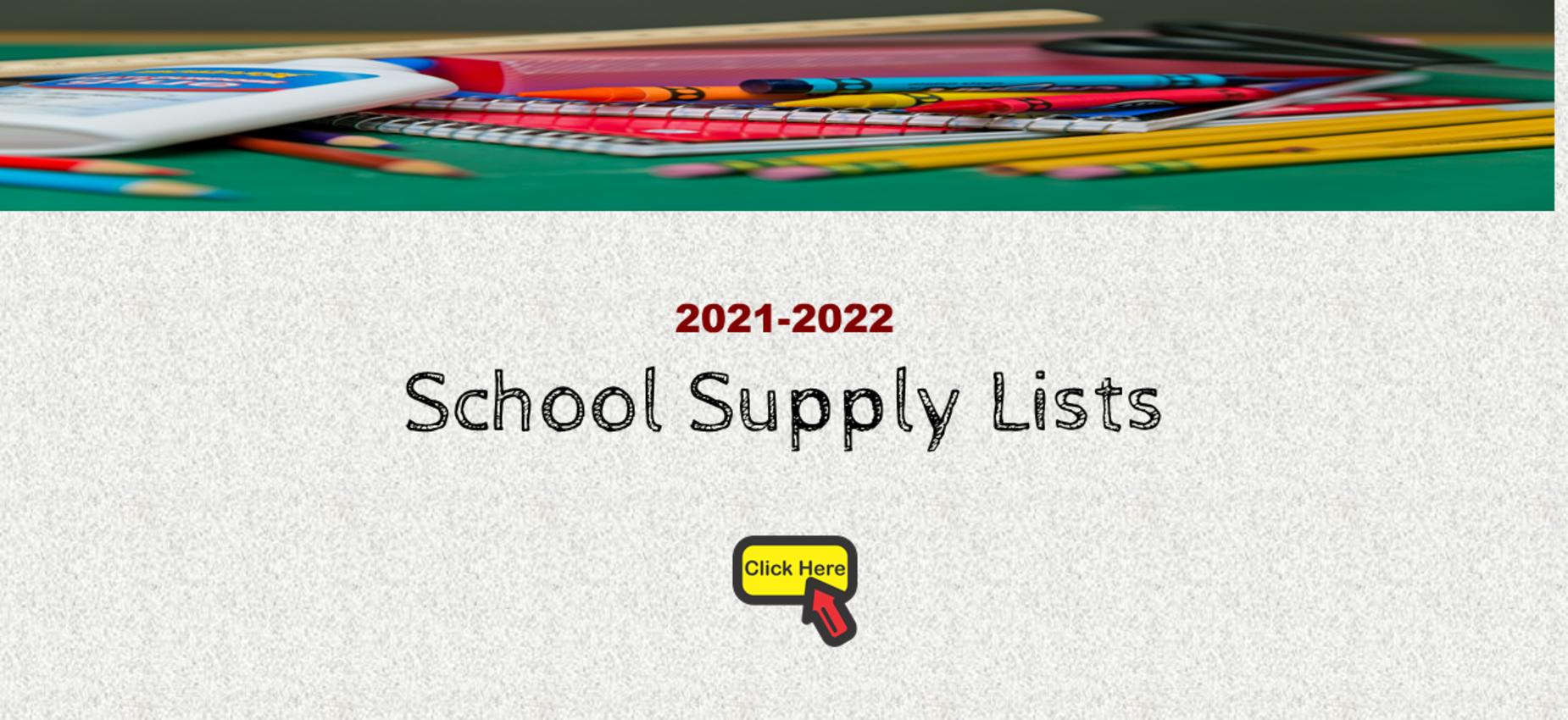 School Supply Lists Graphic