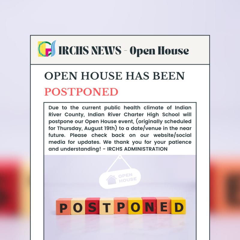 IRCHS Open House Postponed Featured Photo