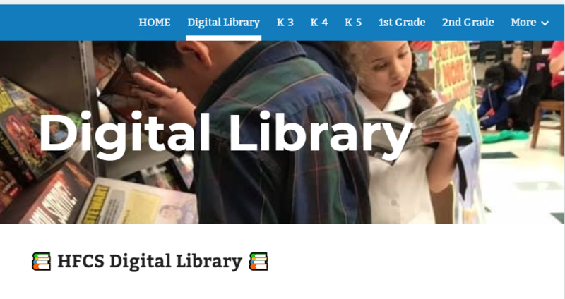 HFCS Digital Library Featured Photo