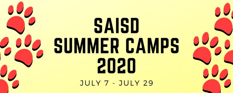SAISD Summer camp logo