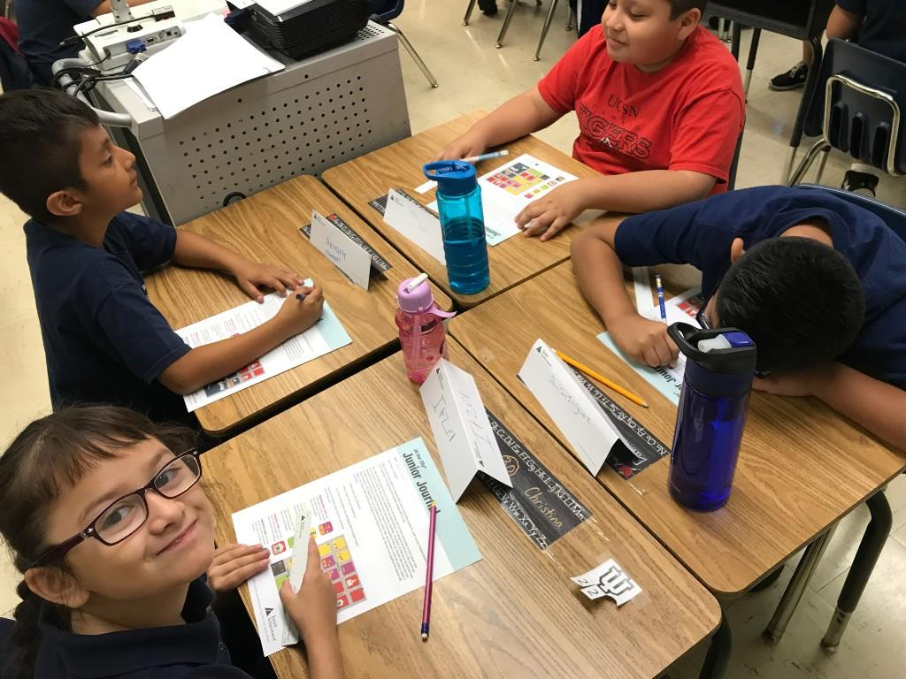 3rd grade works on packets