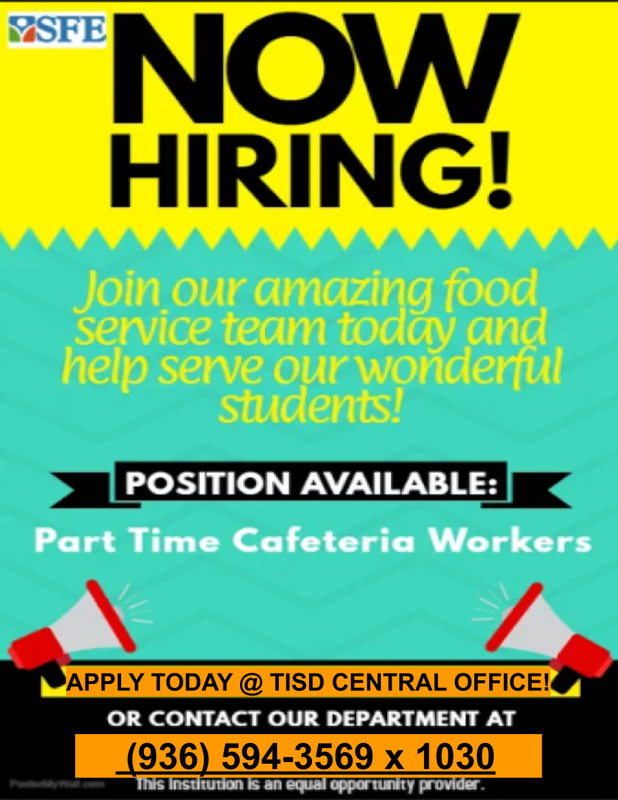 SFE is Now Hiring Part-Time Cafe Workers! Thumbnail Image