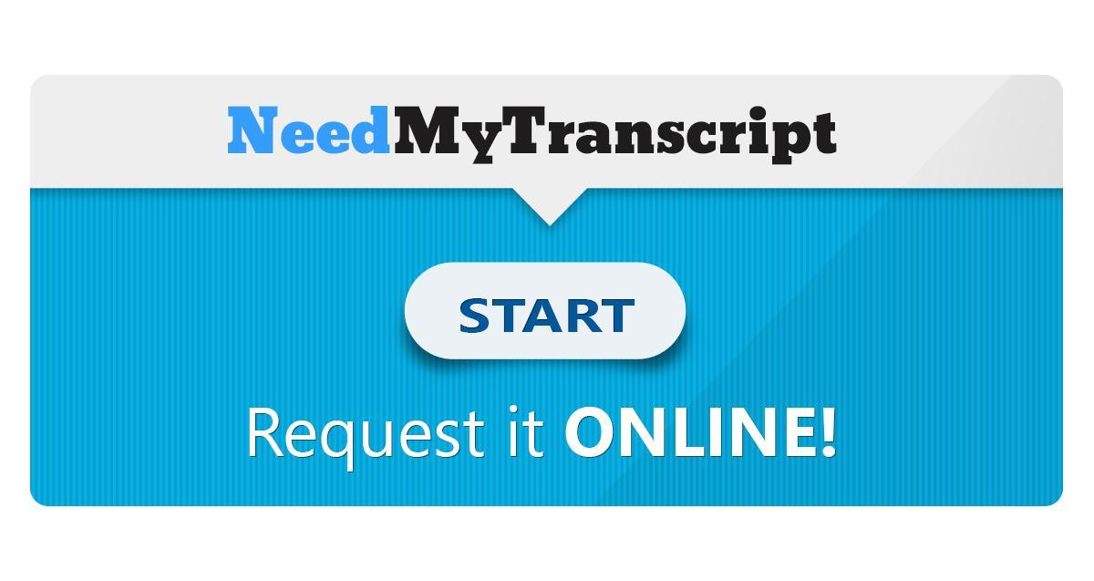 Need a transcript banner