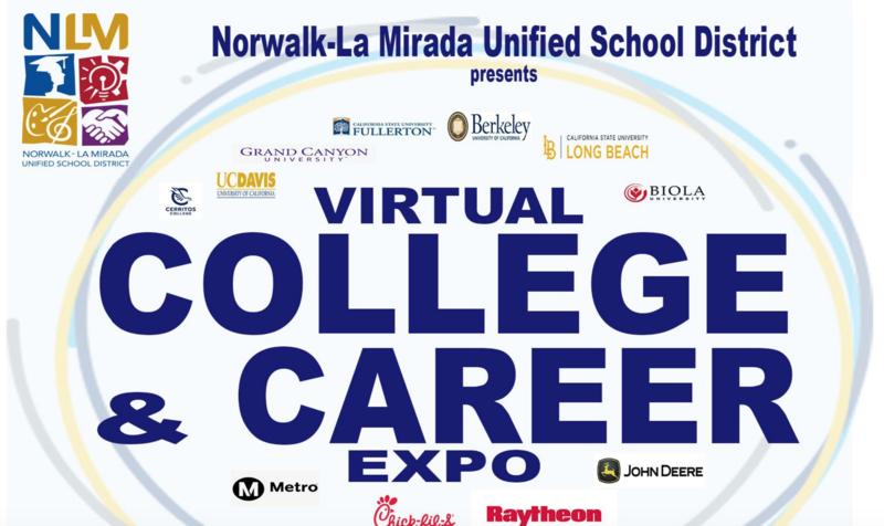 NLMUSD's Virtual College & Career Expo Featured Photo