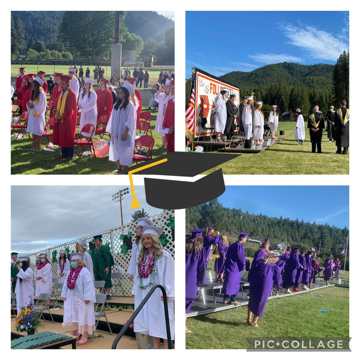 Graduation from around the district 2021