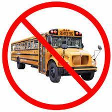 NO BUS SERVICE - March 20th through 22nd Thumbnail Image