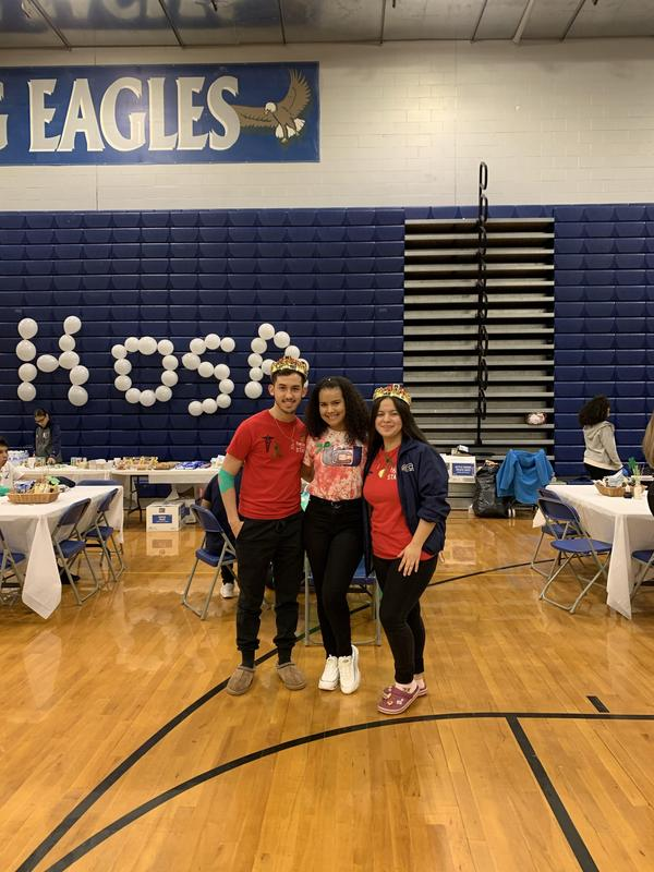 HOSA spring blood drive