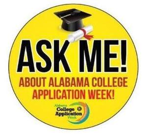 Ask Me! About Alabama College Application Week!