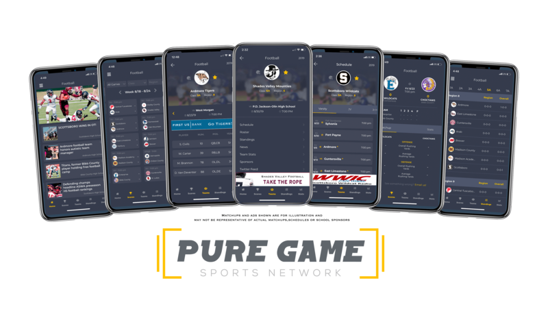Pure Game Sports Network Marketing Visual Display