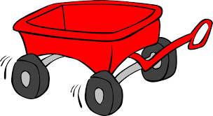 Red wagon.