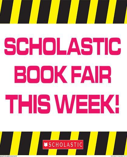 Scholastic Book Fair This Week!