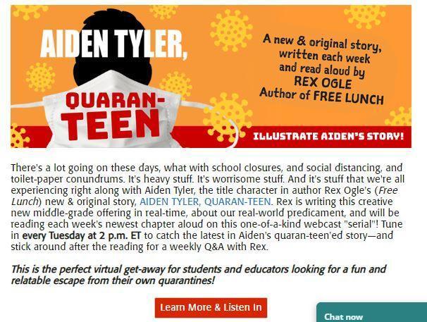 Aiden Tyler: Quaran-TEEN