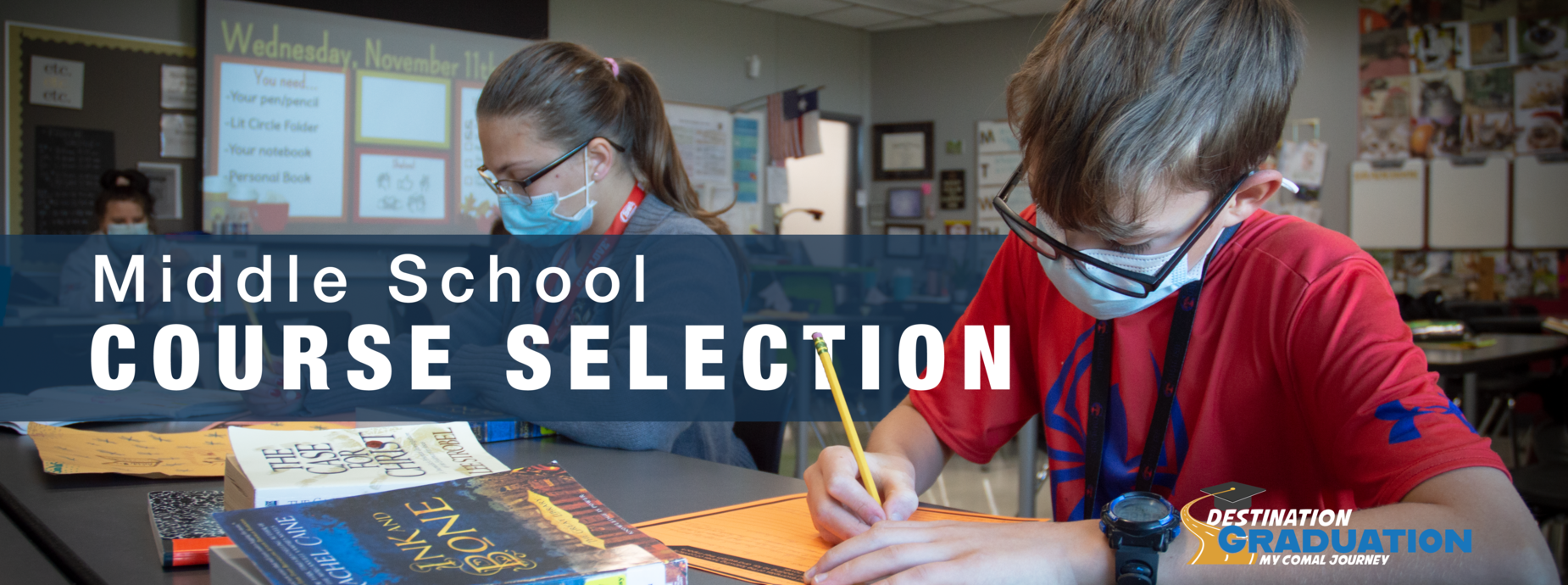Middle School Course Selection Banner