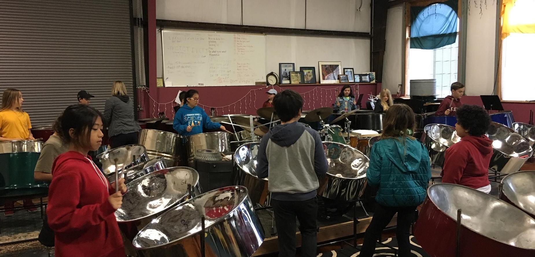 steel drum practice