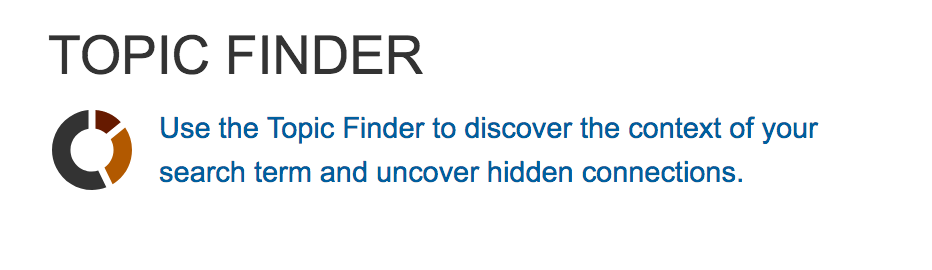 Topic Finder