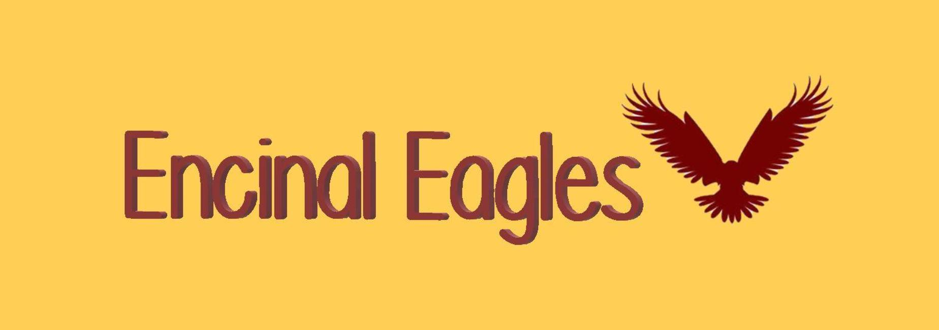 Encinal Eagles with eagle logo