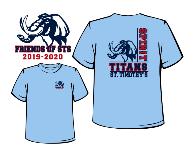 2019-2020 Friends of STS T-shirt