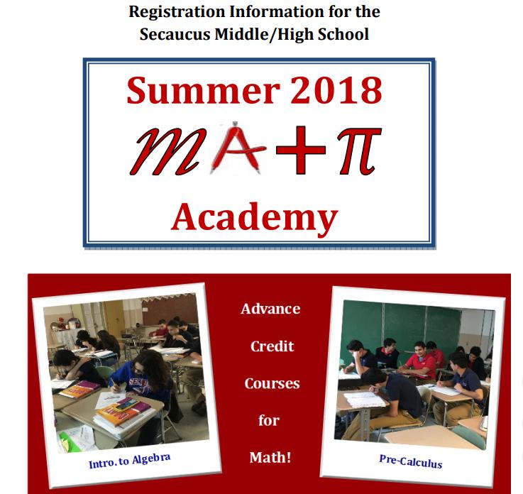 2018 Summer Math Academy Thumbnail Image