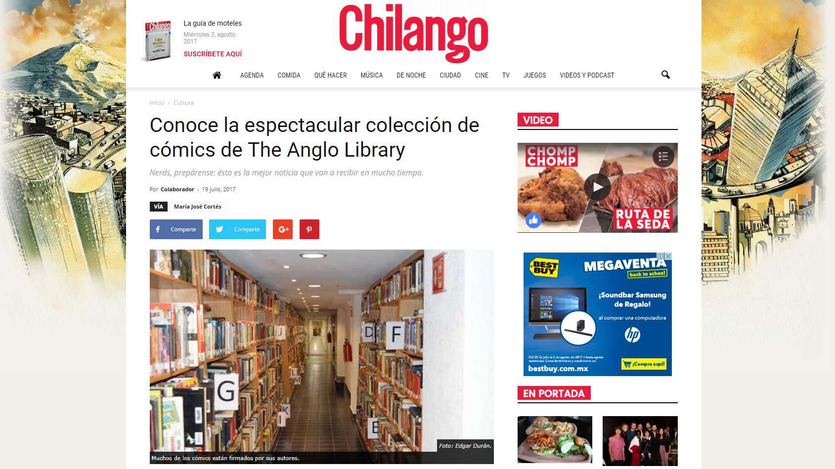 The Anglo Library Chilango