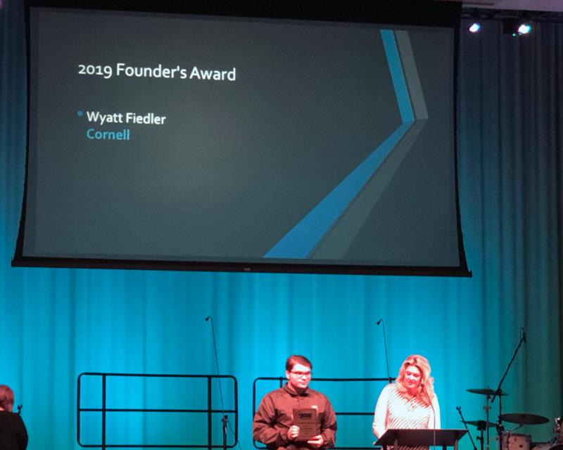 Wyatt Fiedler Recognized by DMAC Thumbnail Image