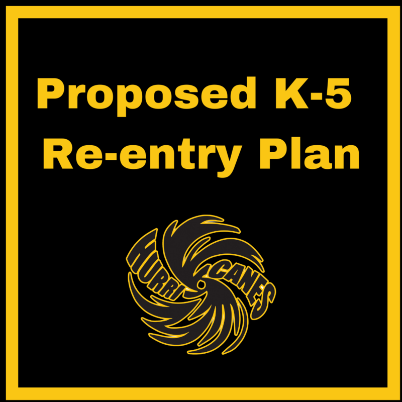 Proposed K-5 Re-entry Plan