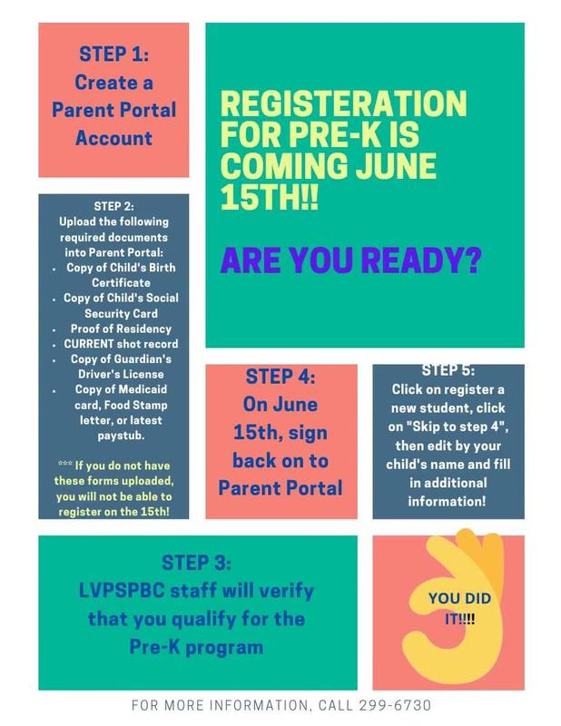 Pre-K Registration is coming June 15th! Thumbnail Image