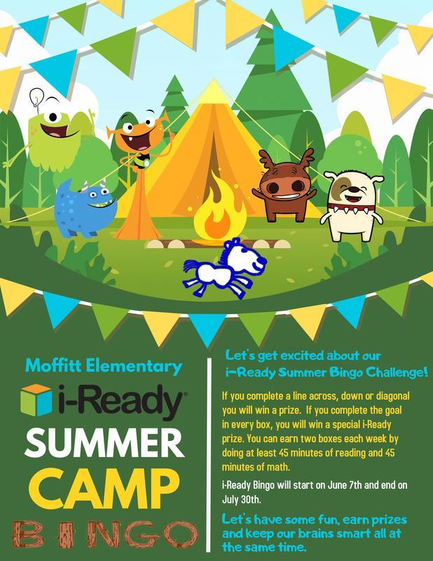 i-Ready Summer Camp Bingo Featured Photo